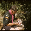 Louis Blair Cheeking Scout Supplies.  South Fork.  08/24/1957