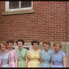 Girls who served at Nalda - Burns wedding.  Shaunavon.  06/30/1954