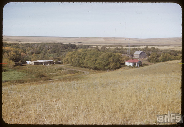 Steve Mann's new house & Old P. O..  Skull Creek P. O..  09/16/1952