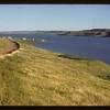 """Going south toward """"Breeds Point"""".  Lac Pelletier.  06/22/1954"""