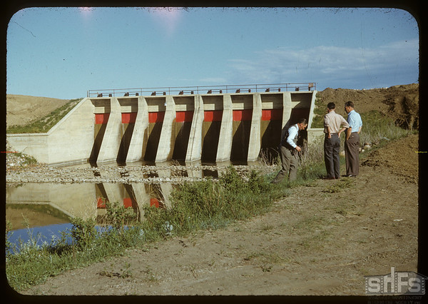 RFRA dam.  Val Marie.  06/14/1950