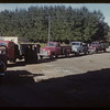 Line up for filling Pool elevator annex.  Val Marie.  09/18/1953