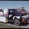 Shaunavon Fair Parade - Co-op Float.  Shaunavon.  07/26/1950