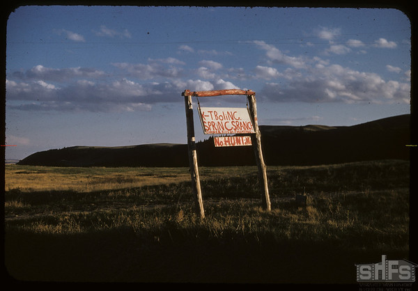 Bill Smith's ranch.  South Fork.  05/18/1957