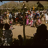 Little guys first - then ladies - then men - Sioux Pow Wow.  Fort Qu'Appelle.  08/18/1957