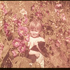 Dixie Lee Voll in the Hollyhocks..  Shaunavon.  08/12/1953