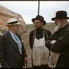 J. H. Wesson with Hutterites Wipf & Wurtz..  Shaunavon.  08/13/1957