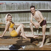 Shaunavon swimming pool - the Maurice Vasseur's.  Shaunavon.  07/15/1951