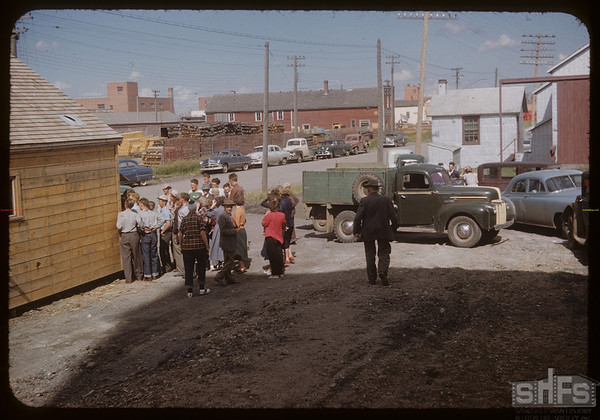 Opening of new Pool elevator.  Swift Current.  07/18/1953