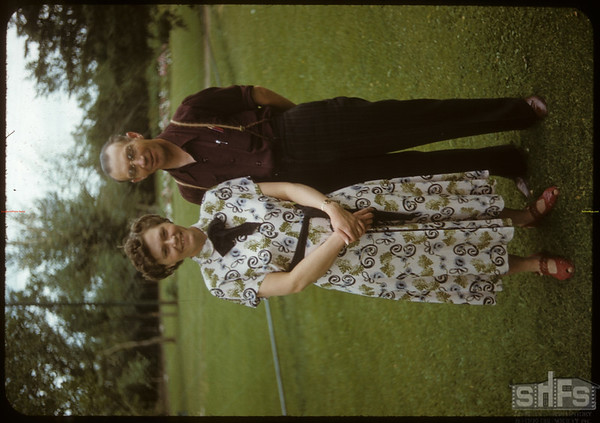 Mr & Mrs Lloyd Bovee District Field Supervisor for Federated Co-op..  Shaunavon.  08/02/1950