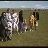 Mennanite ladies at Experimental Farm.  Swift Current.  07/13/1955