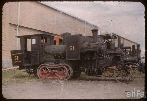 Centiped Log-hauler. Saskatoon 07/04/1956