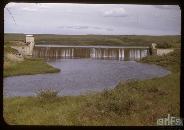 Swift Current Dam.  Swift Current.  07/10/1957