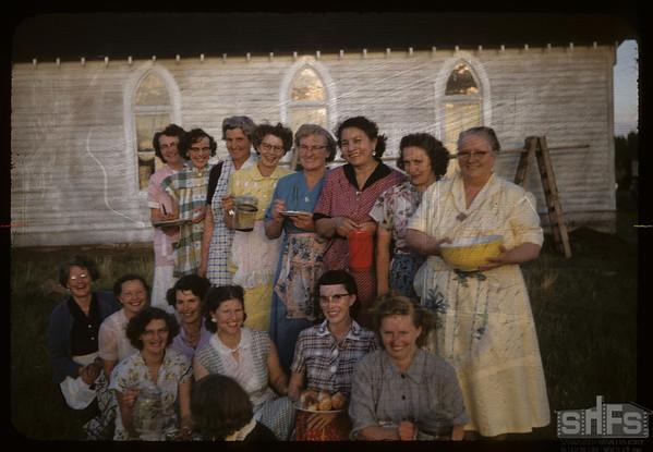 United Church Ladies Aid.  Val Marie.  06/26/1956