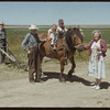 Horse back riding at Bill Sanderson's - Lee & Grant and Nellie.  Senate.  07/04/1952