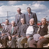 Co-op pioneers at the Co-op Sevice Station official opening.  Shaunavon.  06/27/1957