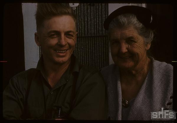 Mr & Mrs Read Laird.  Scotsguard.  05/05/1958