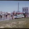 Shaunavon Fair Parade - Agricultural Society float.  Shaunavon.  07/26/1950