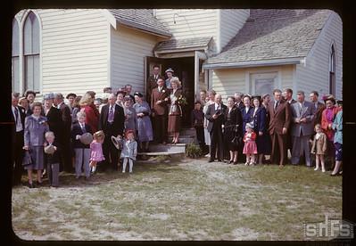 Norman Wilson & Orma McDonough wedding, Admiral, 05/10/1951