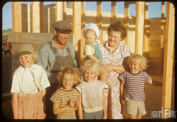Paul Trudeau Family.  Simmie.  07/27/1953