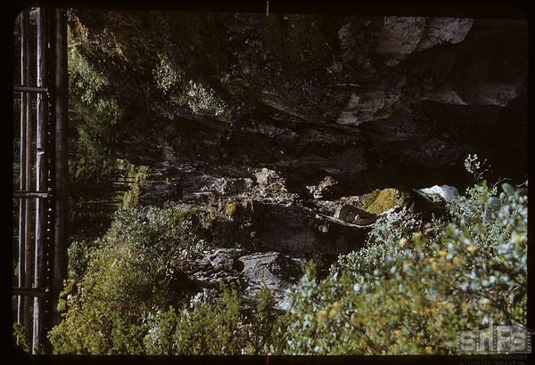 Marbel Canyon Falls - 125 feet..  Kooteney N. P..  07/28/1951