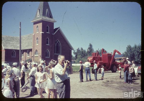 Shaunavon rodeo.  Shaunavon.  07/23/1957