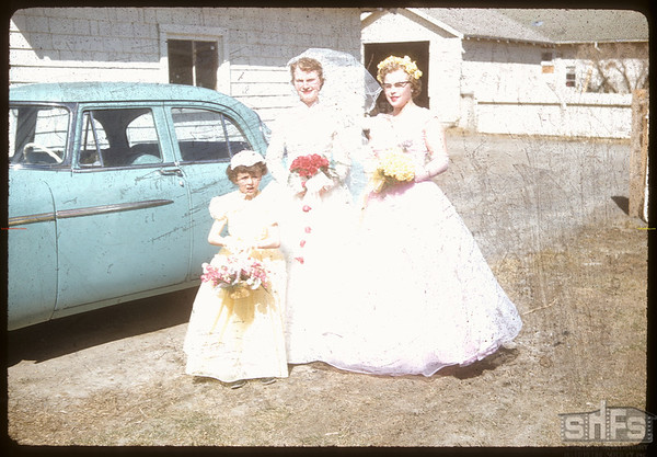 Love - Ketner wedding.  Shaunavon.  04/10/1956