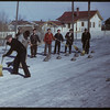 Outdoor curling - Oldest & Youngest rinks; Leon Nadler - Dick Kessy - Jim Stevenson & Dave Steel - combined 266 years; Don Fritz - Dave Mitchell - Todd ? - Hannah ? - combined 59 years.	 Shaunavon. 02/16/1950