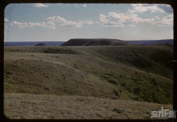 McNabb ranch near international border.  Val Marie.  06/29/1957