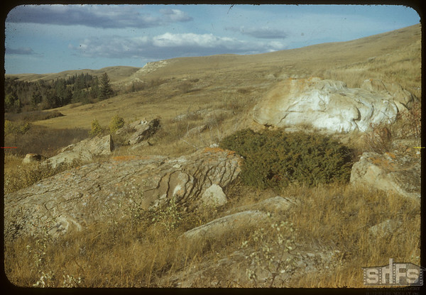 Rocky Hillside S. of Shaunavon Lease.  South Fork.  10/09/1954