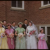 Nalda - Burns wedding party.  Shaunavon.  06/30/1954