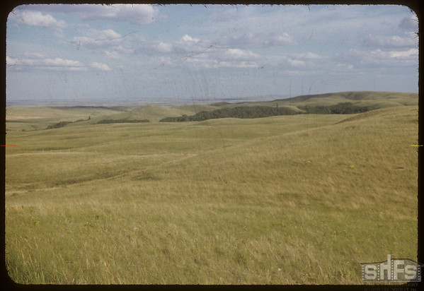 Range N.W. of S.F. Valley. Looking S.-S.E..  South Fork.  06/27/1954