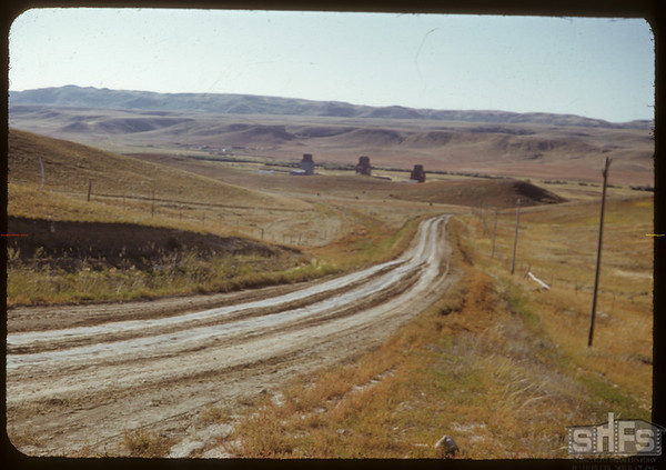 South Fork Looking N.W..  South Fork.  09/18/1950