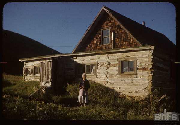Mrs. Percy Lewis and Klintonel PO. Klintonel.  07/13/1954