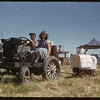 Jubilee Fair Parade - Clarence Fritz.  Shaunavon.  07/26/1955