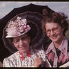 Jubilee period costumes - Mrs. Alpheus LeGros and Mrs. Stewart Grant.  Val Marie.  06/06/1955