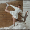 Skating Club - Arlene Behrman.  Shaunavon.  03/21/1950