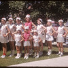 Junior and Senior majorettes - Shaunavon Fair.  Shaunavon.  07/20/1954