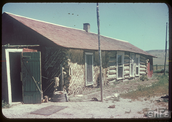 Doc Dixon's ranch house.  Val Marie.  07/05/1951