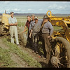 Melvin Aaston and construction crew - Irrigation ditch west dam.  Val Marie.  06/21/1951