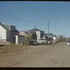Residential street scene.  Val Marie.  10/05/1954