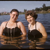 Marg Carleton and Virginia Howlett.  Swift Current.  07/13/1956