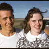 Marcel and Maureen at Maple Leaf Hall..  Shaunavon.  07/01/1957