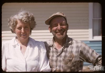 Mr & Mrs Albin Anderson, Admiral, 07/06/1957