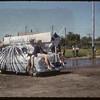 Jubilee Fair Parade - High School float.  Shaunavon.  07/26/1955