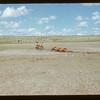 "Harold Heath. One-waying Matador Co-op Farm ""Community Pasture"".  Matador.  07/11/1951"