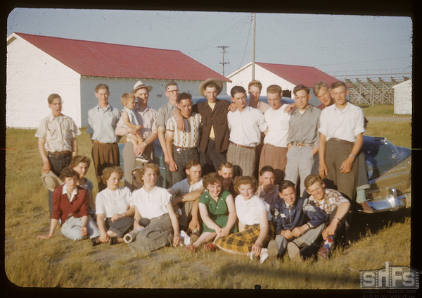 Part of the Swift Current co-op school.  Swift Current.  07/12/1951