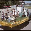 Shaunavon Fair Parade - Shaunavon Industries float.  Shaunavon.  07/26/1950