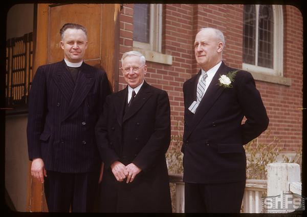 Dorothy Cameron - Don Hamilton wedding Ministers Blezzard & Thacker.  Shaunavon.  05/16/1953