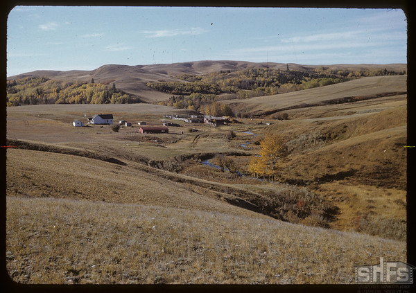 Smith Bros. ranch and South Fork springs.  South Fork.  10/07/1951